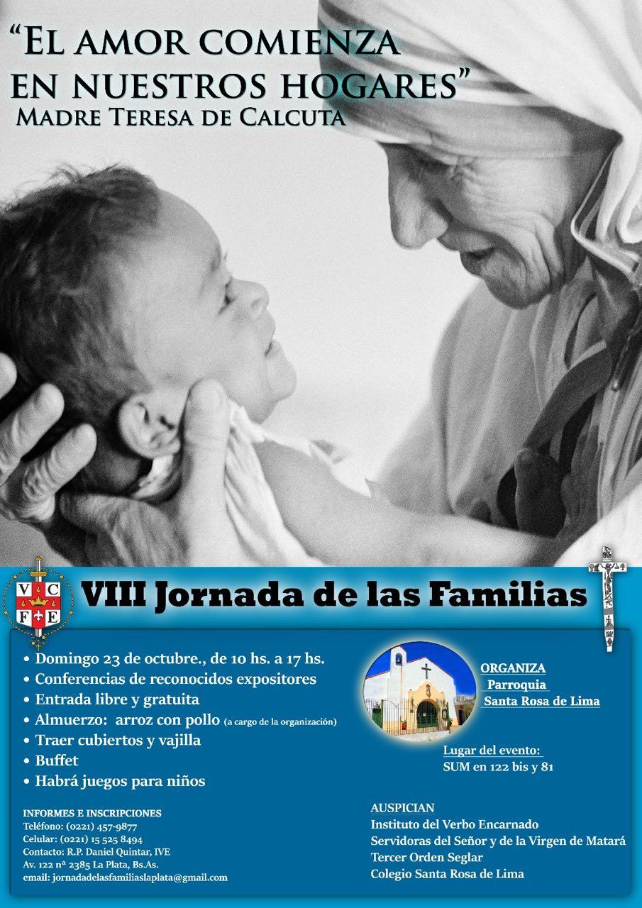 Santa Teresa De Calcuta Y La Familia En Jornada De Las Familias En