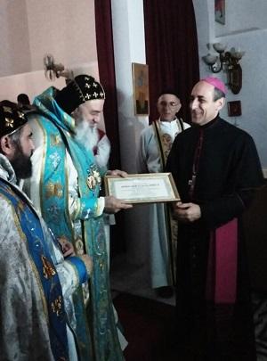Encuentro del Arzobispo de La Plata con el Patriarca Universal de la Iglesia Siriana Ortodoxa