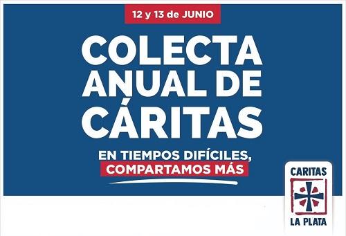 """""""En tiempos difíciles, compartimos más"""": Cáritas La Plata presentó la colecta anual 2021"""