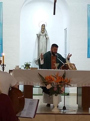 Falleció el Pbro. Daniel Martínez, quien era párroco de Ntra. Sra. del Santísimo Rosario, en El Dique